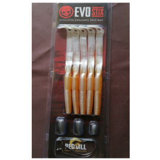 Red Gill EvoStix Bass Lures